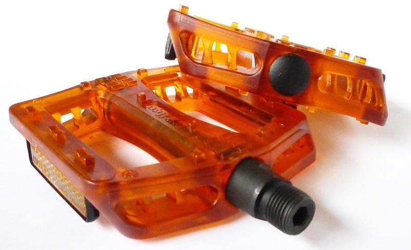 Kerékpár pedál wellgo b107 műanyag platform