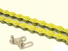 kerékpár színes lánc kmc z410 sárga